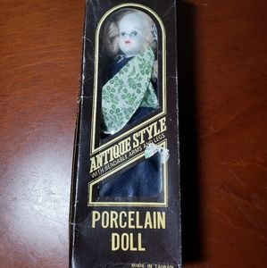 Other - Antique style porcelain doll